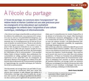 Article de Marie Rachédie dans Animation & Education N°273 nov-décembre 2019