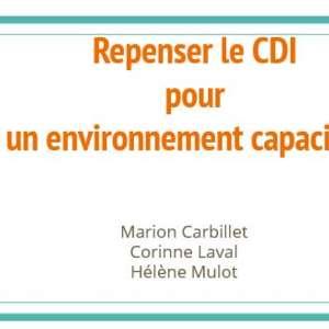 Repenser le CDI pour un environnement capacitant